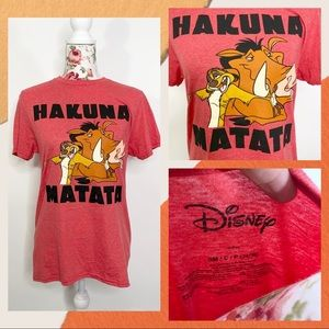 Disney Lion King Hakuna Matata shirt womens sz s
